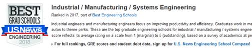 2018年USNEWS美国大学工业与系统工程专业排名.png