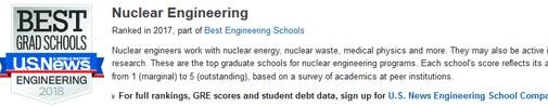 2018年USNEWS美国大学核工程专业排名.png