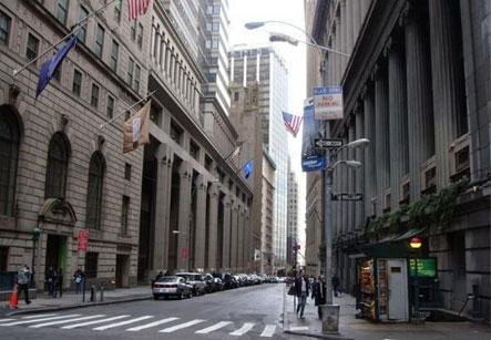 美国金融中心-华尔街