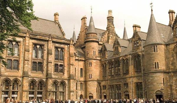牛津大学的一角