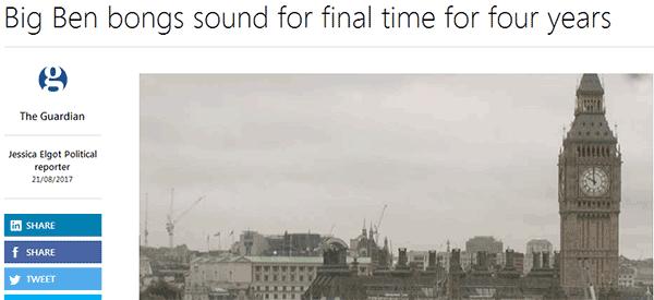 最新资讯:英国大本钟将整修四年!看大本钟位置最好的英国大学有哪些?