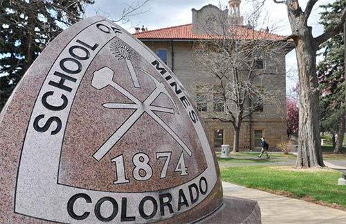 科罗拉多矿业大学校园一角