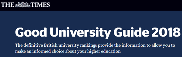 Good University Guide   2018