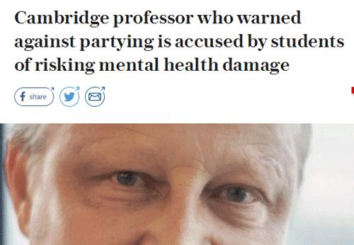 """剑桥大学教授倡导一种""""大学生活方式"""",引起学生反驳!"""