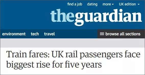 英国交通费飚升:平均涨幅达到3.4%,留学生长点心吧!