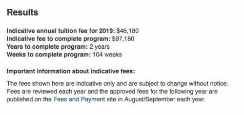 爆!澳洲八大2019年學費全部公布!再創新高!