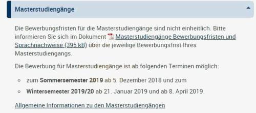 汇总贴!2019年德国高校申请条件发生了哪些变化?