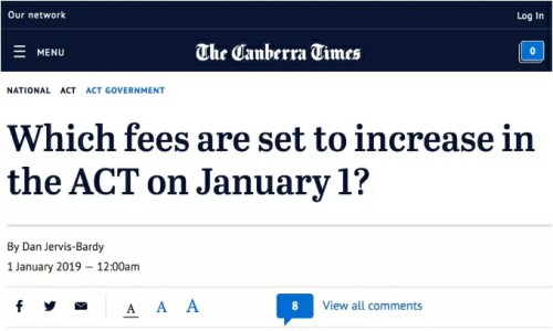 澳洲资讯:2019年的第一周,这些新政开始推行,望周知!