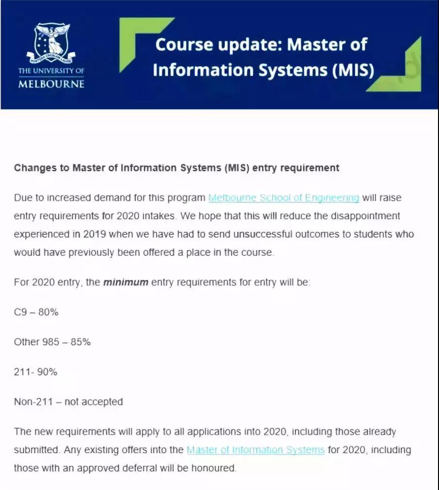 澳洲大学又涨分,MQU新增40+一年制硕士和双学位课程!
