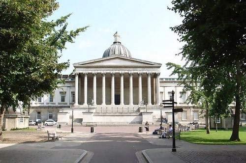UCL的校园一角