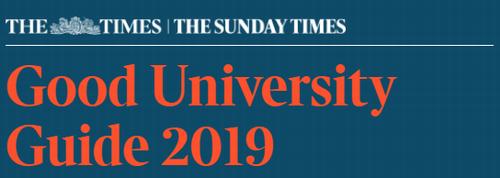最新!2019泰晤士报TIMES英国大学排名新鲜出炉!