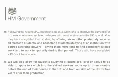 英国签证新政:Tier 4 Pilot有望扩展到全英大学!