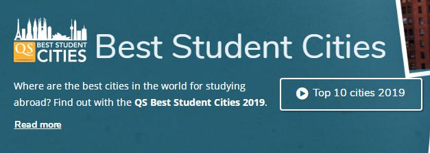 2020QS世界最佳留學城市榜:大陸4所城市在榜,三所優勢下降