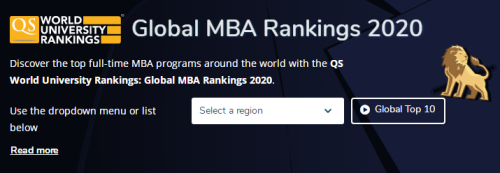 2020QS全球MBA排名:宾大沃顿&斯坦福并列第一!大陆3所上榜