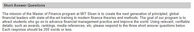 去美国读研,申请名校金融专业essay怎么写?