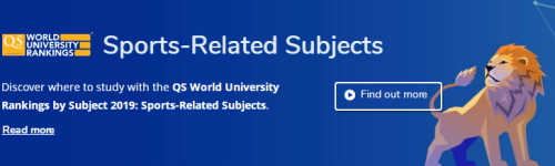 出国留学:这份体育留学择校榜单你看了吗?