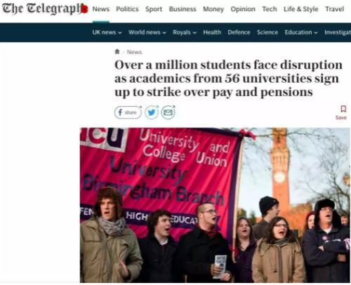 英國留學生:我們太難了,劍橋等在內的56所學校要罷工!