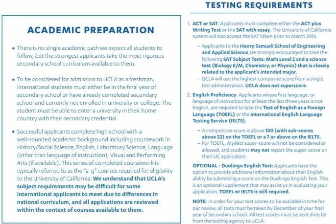 9所加州大学2020年国际生录取情况分析贴