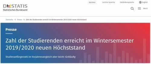 德国留学:2019-2020年德国在校人数再创新高!