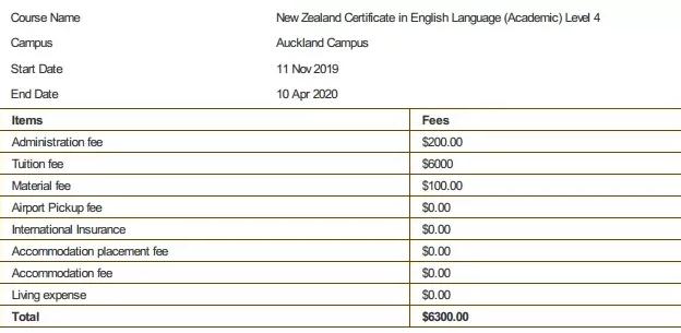 新西兰语言学校有哪些?费用多高?