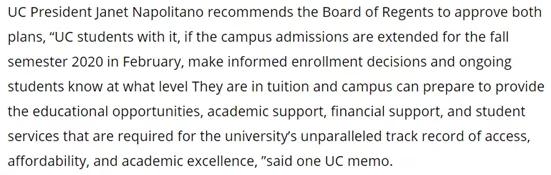 美国加州大学又要涨学费?小幅慢增VS一次性涨到底,选哪个?