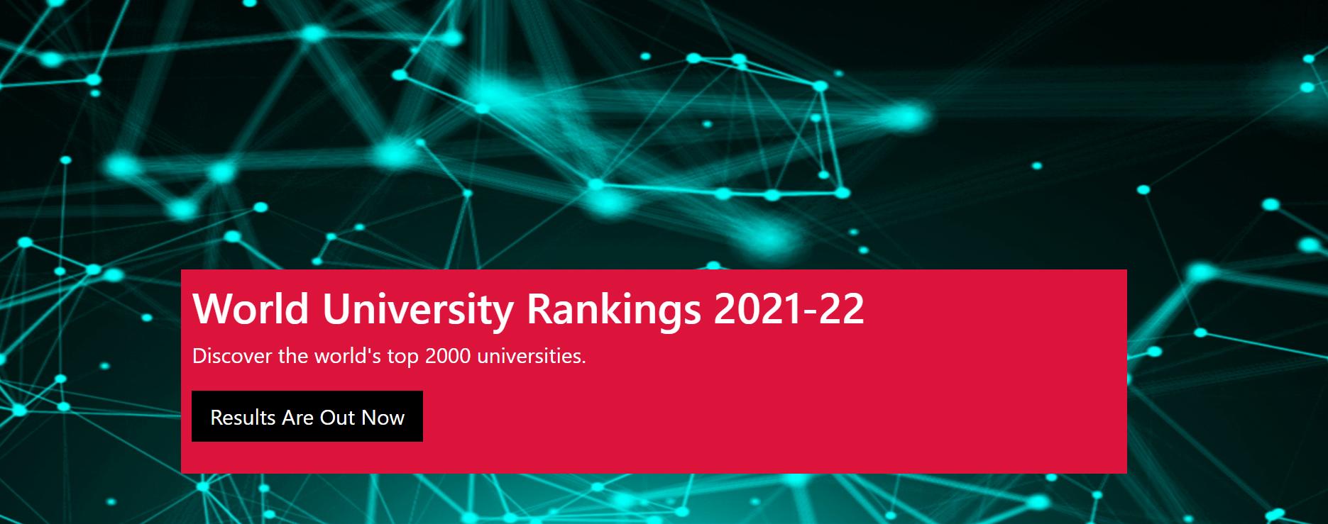CWUR世界大学排名