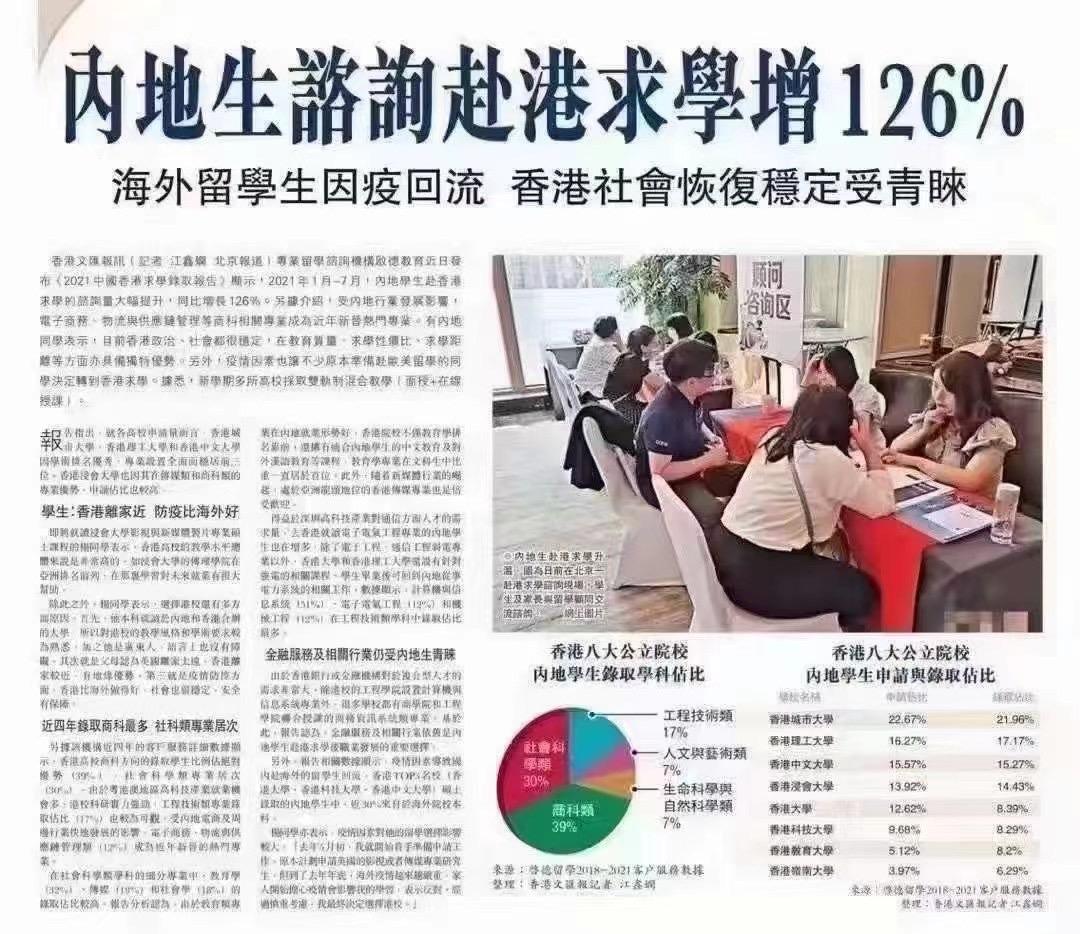 香港留学申请注意事项