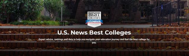 美国留学,USnews大学排名,院校排名